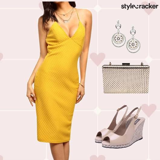 ValentinesDay Date Dress Shoes Clutch Accessories - StyleCracker