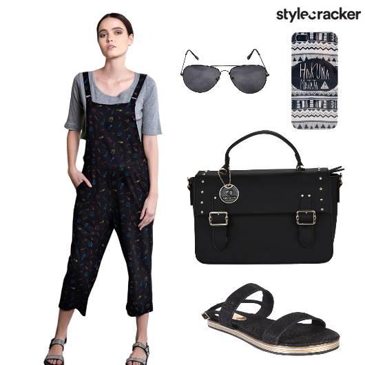 Jumpsuit Bag Sandals TShirt Mobilecover - StyleCracker