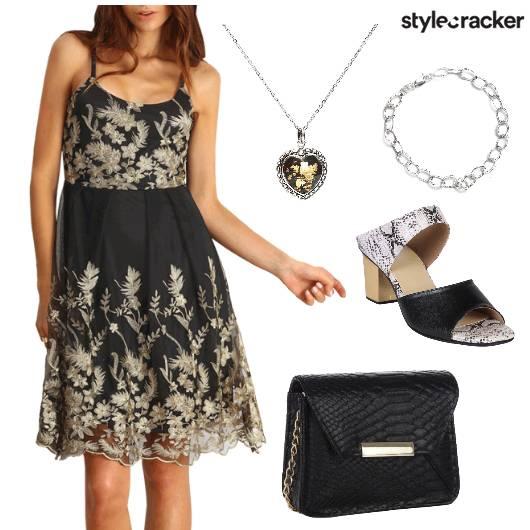 Dress Bracelet Neckpiece Bag  - StyleCracker
