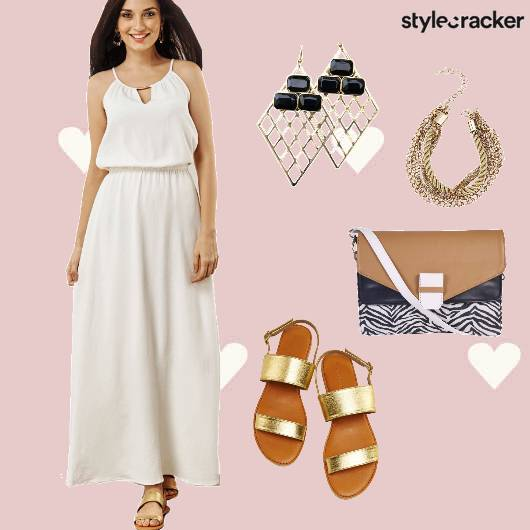 MaxiDress Brunch Date  - StyleCracker