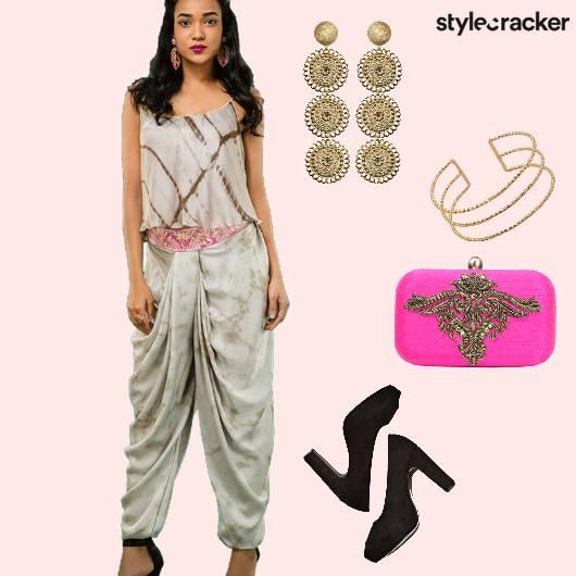 Indian PeepToe Ethnic  - StyleCracker