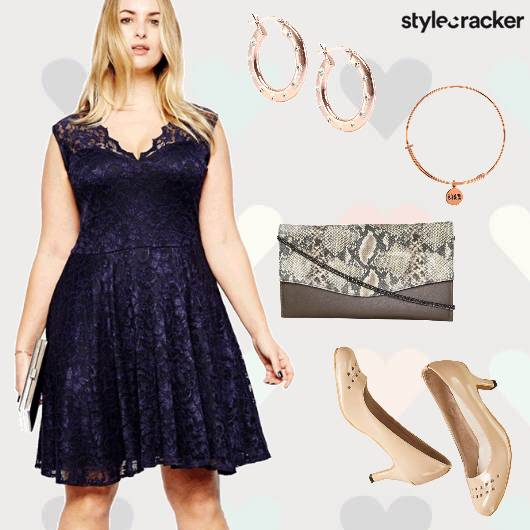Lace Dinner Date Heels  - StyleCracker