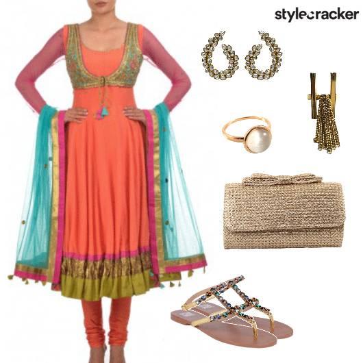 Anarkali Indian Ethnic Wedding - StyleCracker