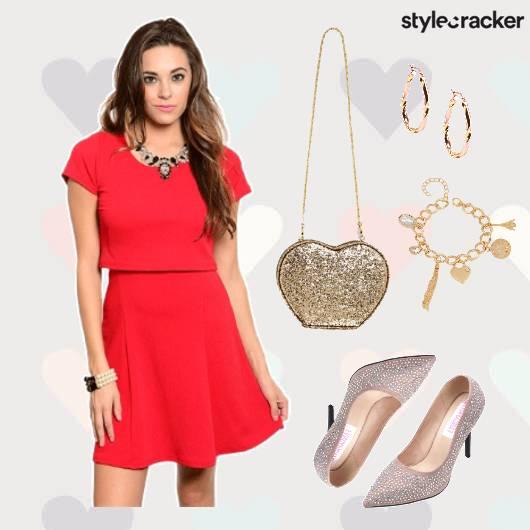 ValentinesDay Date Dress Shoes Bag  - StyleCracker