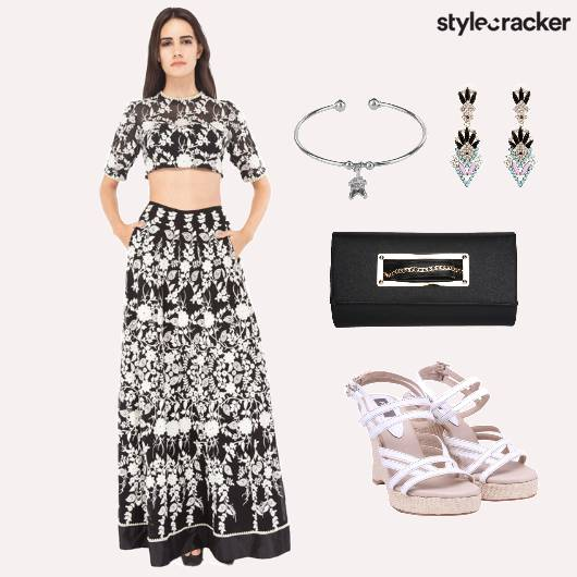 Wedding IndoWestern Clutch Shoes Accessories - StyleCracker