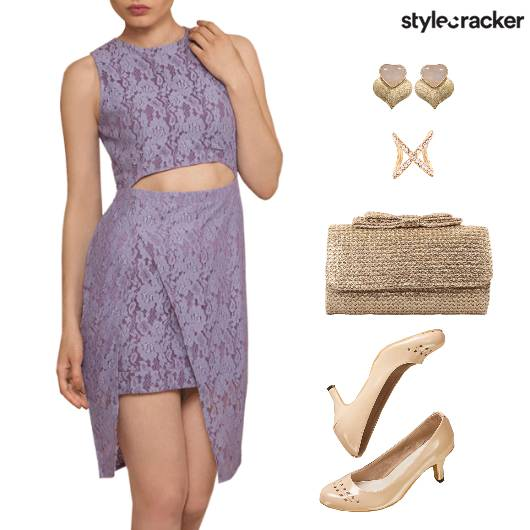 DateNight Lace CutoutDress - StyleCracker