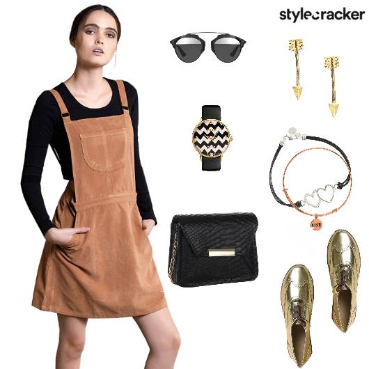 Playsuit Croptop Sneakers Slingbag Casual - StyleCracker