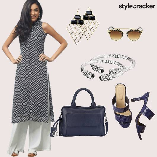 Kurta Handbag Work Ethnic - StyleCracker
