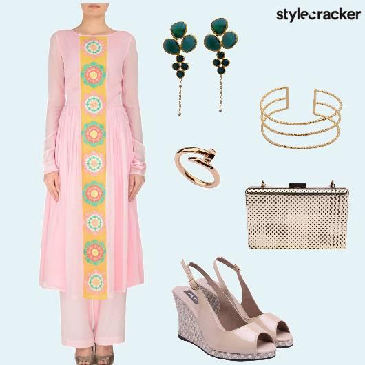 Suit Ethnic Wedges Party - StyleCracker