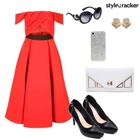 Dress Pumps Clutch Party - StyleCracker