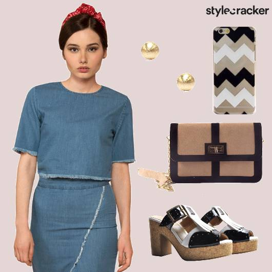 Denim Twinset Casual Wear - StyleCracker