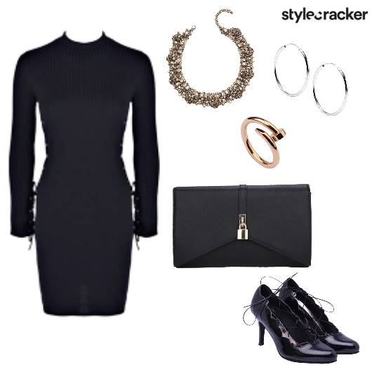 Bodycon Dress Dinner Date - StyleCracker