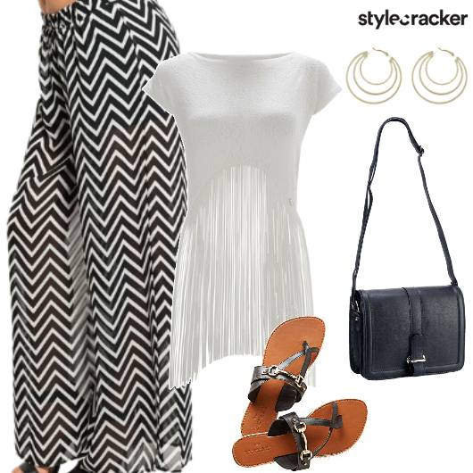 Palazzo Fringe Shopping Casual - StyleCracker