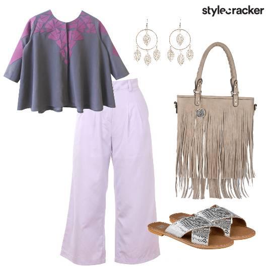 Croptop Pants Exhibition DressedUp - StyleCracker