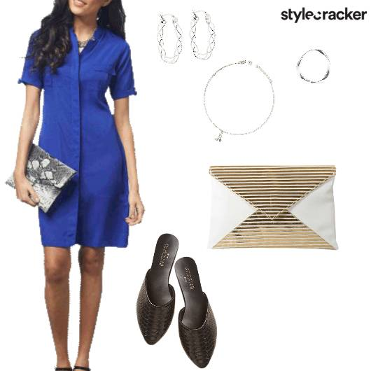 Shirt Dress Casual Lunch - StyleCracker