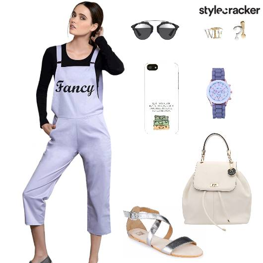 Overall Flats Backpack Casual - StyleCracker
