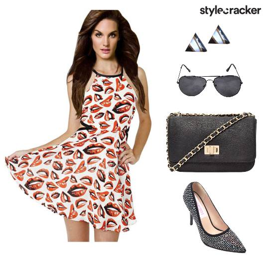Dress Heels Slingbag Sunglasses - StyleCracker