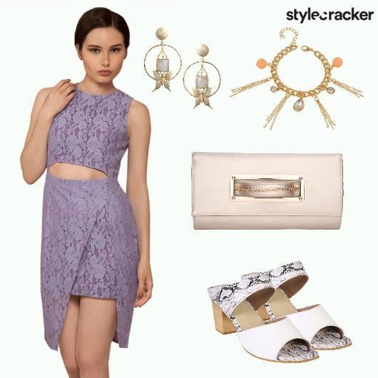 Dress Earrings Heels Sling - StyleCracker