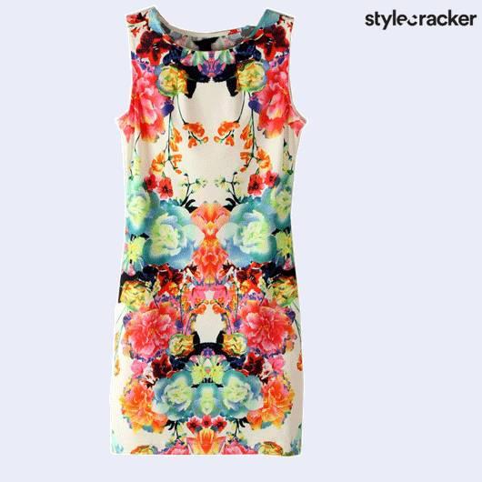 ScLoves PrintedDresses - StyleCracker
