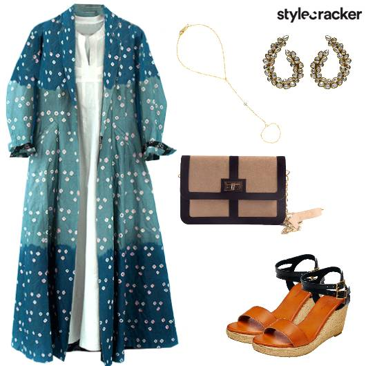 LongJacket IndoWestern Wedges  - StyleCracker