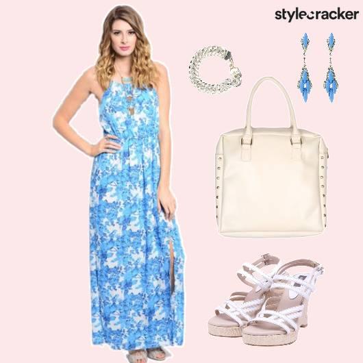 Dress Floral Print Bag Accessories - StyleCracker