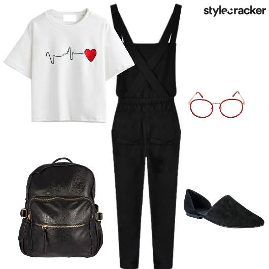 Overalls Casual Geekchic Laidback - StyleCracker