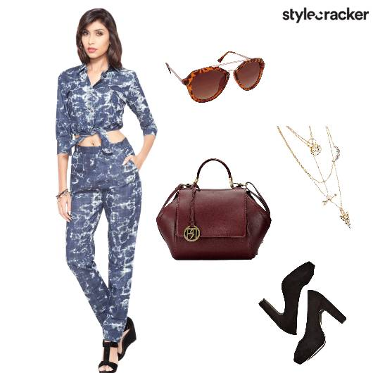 Denim Croptop Brunch - StyleCracker