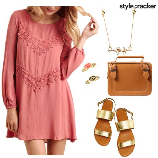 Pastel Dress Casual Comfy - StyleCracker