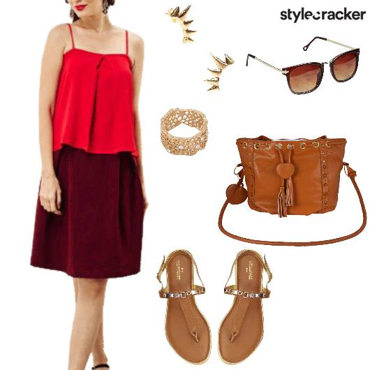 Lunch Skirt Top Day  - StyleCracker