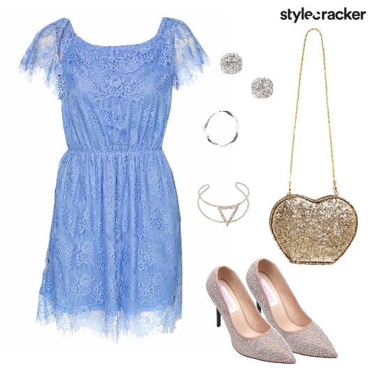 Lace Dress Party Serenity  - StyleCracker