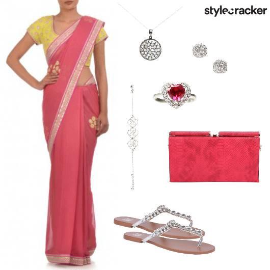 Saree Indian Ethnic Wedding Gathering - StyleCracker
