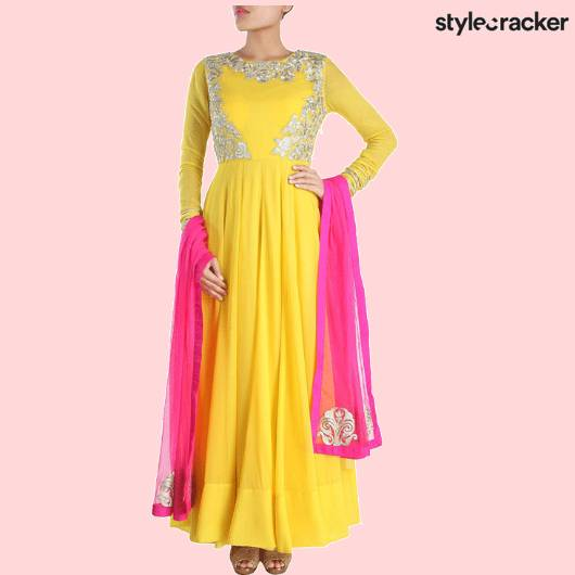 SCLOVES ANARKALI  - StyleCracker