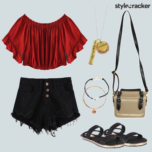 Crop Shorts Vacation Casual  - StyleCracker