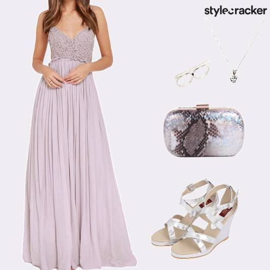 DateNight LaceTop MaxiDress - StyleCracker