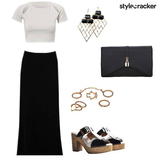 Skirt Crop Party  - StyleCracker
