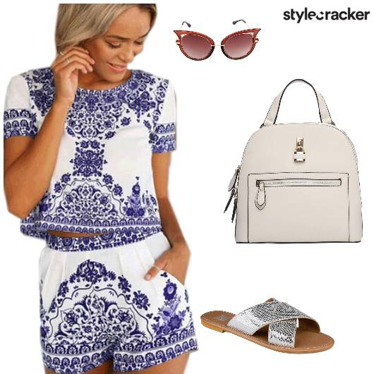 Casual Printed Co-ords Brunch - StyleCracker