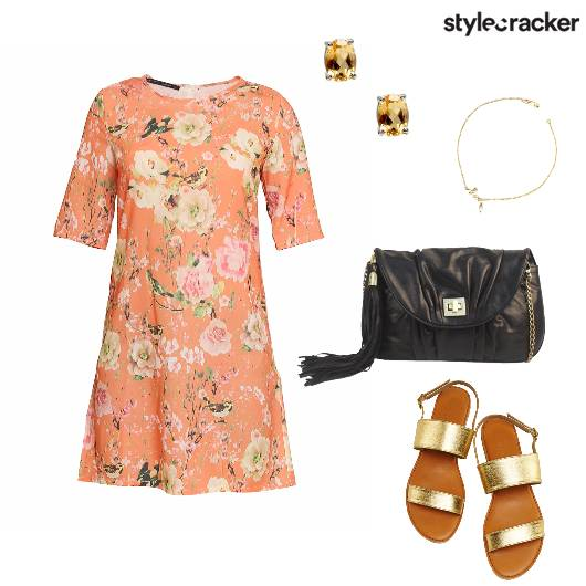 Floral Dress Casual Day - StyleCracker