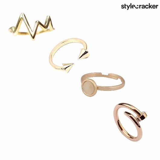 SCLOVE GOLD RING - StyleCracker