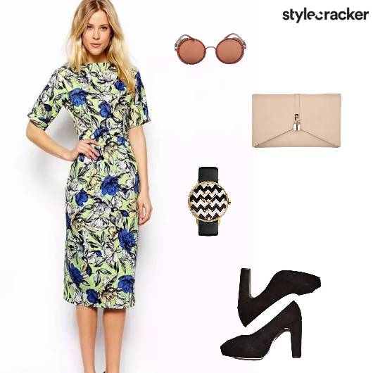 Bodycon Peeptoes Watch - StyleCracker