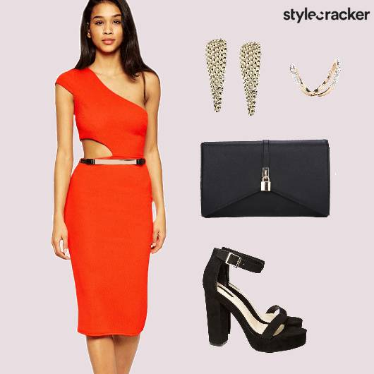 Bodycon Dress Clutch Cocktail  - StyleCracker