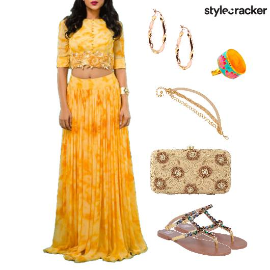 Lehenga Indian Ethnic Festive - StyleCracker