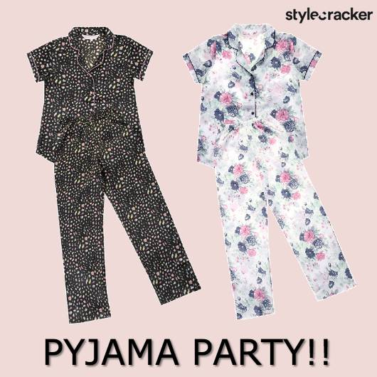PJs NightIn Chill Prints  - StyleCracker