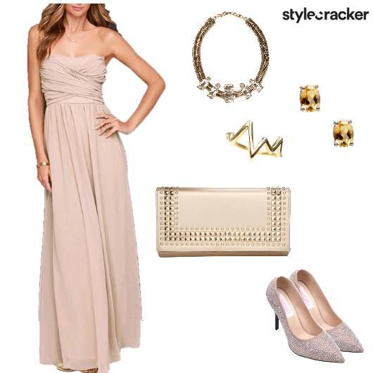 Long Dress Night Dinner Party - StyleCracker
