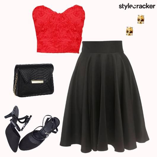 Night Party Bustier Skirt - StyleCracker