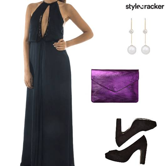 Evening Party MaxiDress - StyleCracker