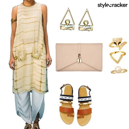 Kurta Indian Ethnic Festive - StyleCracker
