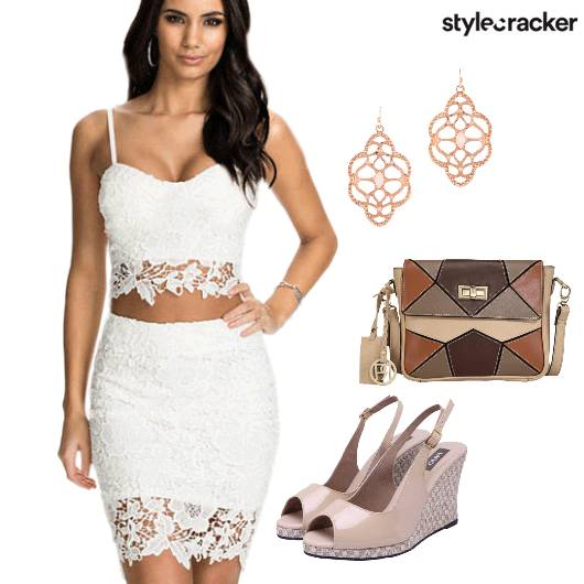 Lace TwinSet Brunch  - StyleCracker