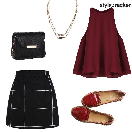 Night Dinner Top Skirt - StyleCracker