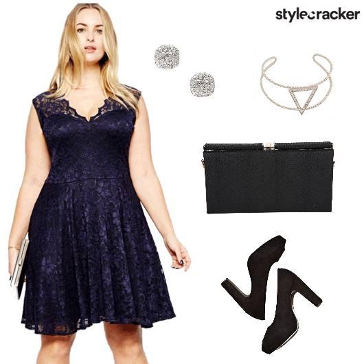 CurvyGirlChic Dress Clutch Cuff Studs - StyleCracker