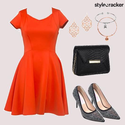Bright Solid Dress Pumps Earrings  - StyleCracker